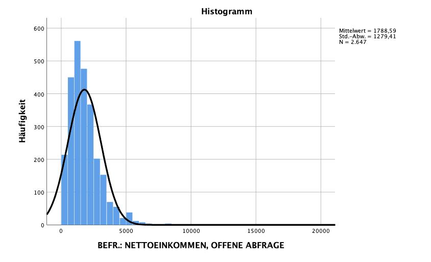 Statistische Auswertung Spss